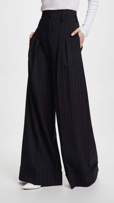 Jason Wu Grey x Diane Kruger Wide Palazzo Pants