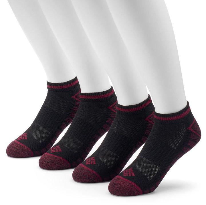 Men's Columbia 4-pack Lightweight Marled Low-Cut Socks