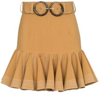 Zimmermann Zippy Flip mini-skirt