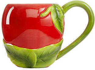 Martha Stewart Collection Serveware, Set of 2 Apple Mugs