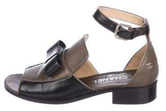 Chanel Leather Ankle Strap