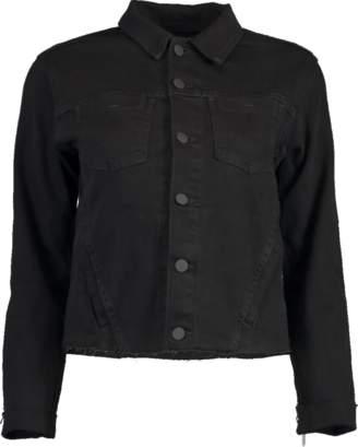 L'Agence Janelle Fringe Chain Jacket