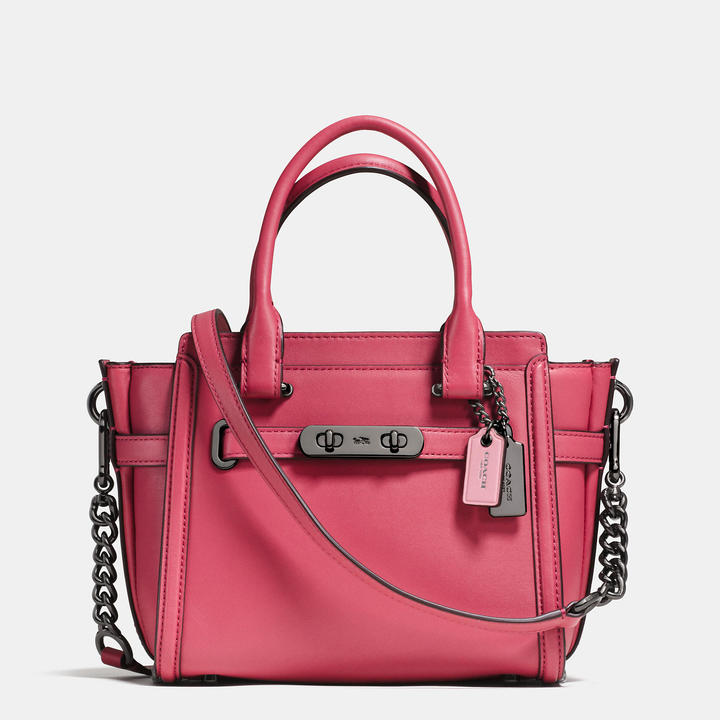 COACH Coach Swagger 21 In Glovetanned Leather