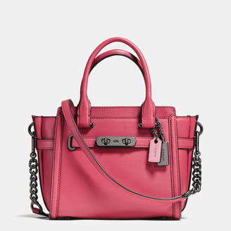 COACH Coach Swagger 21 In Glovetanned Leather $395 thestylecure.com