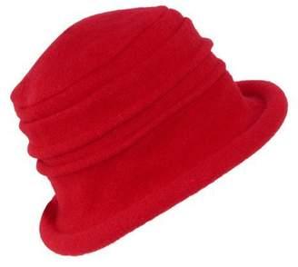 Scala Collezione Women's Boiled 100% Wool Cloche Hat