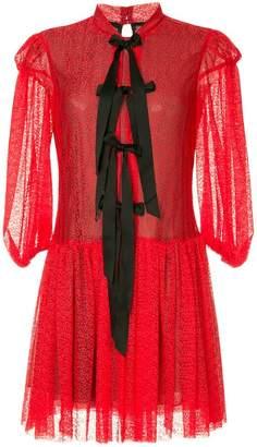 Philosophy di Lorenzo Serafini lace short dress