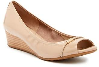 Cole Haan Emory Open Toe Wedge Pump