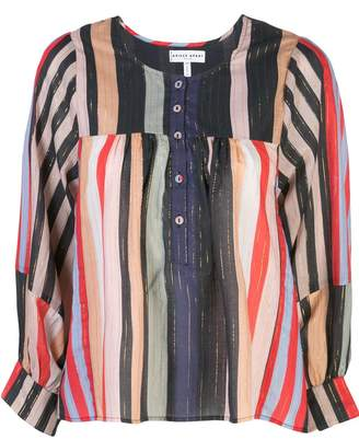 Apiece Apart striped tunic blouse