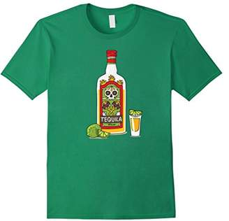 Tequila Lime Salt T-Shirt: Tequila Bottle Lover Gift Shirt