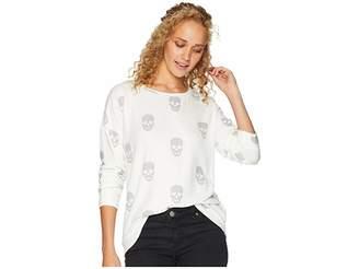 PJ Salvage Simple Skull Sweatshirt