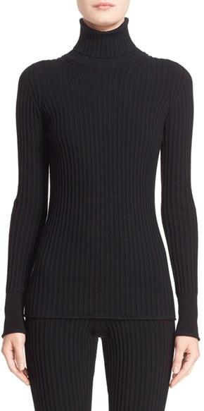 MonclerWomen's Moncler Rib Knit Turtleneck Sweater