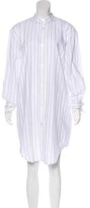 Acne Studios Stripe Button-Up Dress