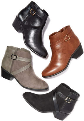 Karen Scott Falonn Ankle Booties