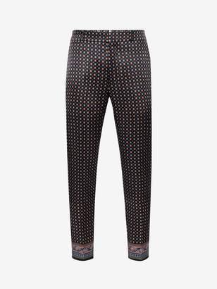 Alexander McQueen Paisley Pants