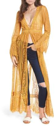 Band of Gypsies Bell Sleeve Lace Kimono