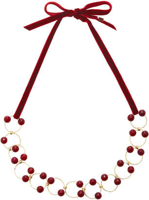 Rosantica Universo Burgundy Quartz Necklace