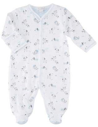Kissy Kissy Dogs Day Out Footie Pima Playsuit, Size Newborn-9 Months
