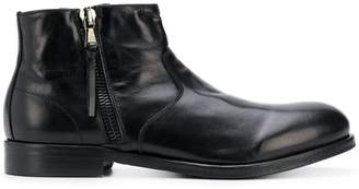 Leqarant side zipped ankle boots