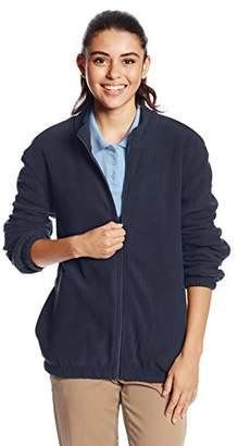 Classroom Juniors Adult Unisex Polar Fleece Jacket, Dark Navy