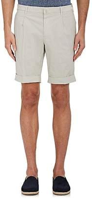 Pt05 Men's Stretch-Cotton Poplin Bermuda Shorts