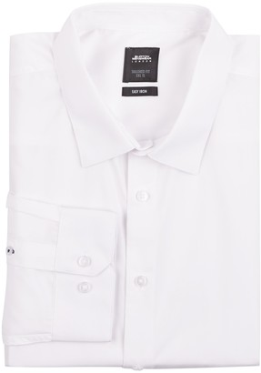 Mens Big &Tall White Tailored Fit Essential Shirt
