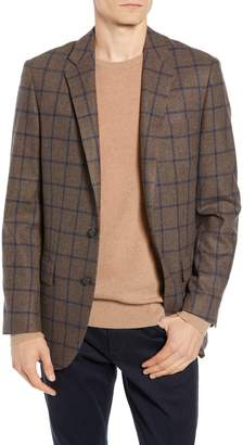 J.Crew Ludlow Trim Fit Windowpane Suit Jacket