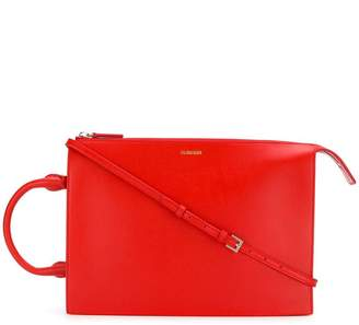 Jil Sander geometric shoulder bag