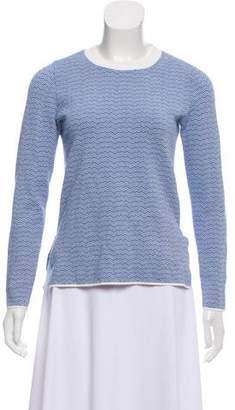 Tory Sport Knit Print Sweater