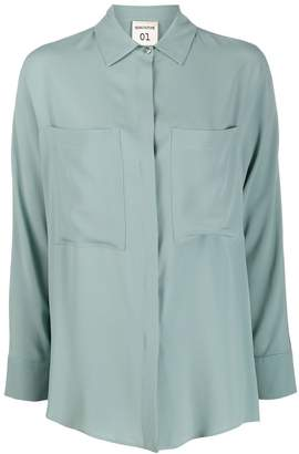 Semi-Couture Semicouture patch pocket shirt