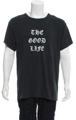 Amiri The Good Life Graphic T-Shirt w/ Tags