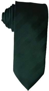 James Cavolini Italy Green Herringbone Neck Tie