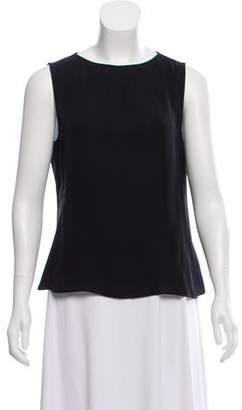 Giorgio Armani Sleeveless Silk Top