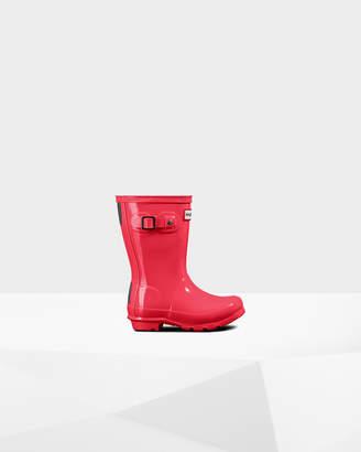 Hunter Little Kids' Gloss Rain Boots