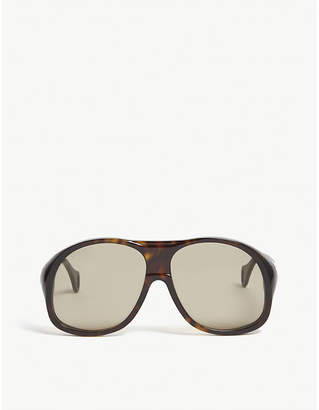 Gucci Gg0243s oval-frame sunglasses