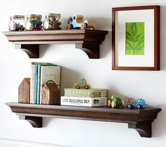 Pottery Barn Kids Classic 2 ft Shelf, Simply White