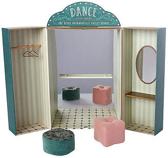 Maileg North America Ballet School Toy Set - Green