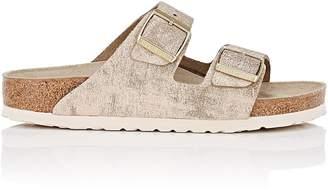 Birkenstock Women's Arizona Distressed Leather Double-Buckle Sandals