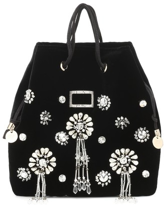 Roger Vivier Viv Pocket Soiree Mini bucket bag