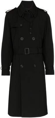 Alexander McQueen Double Breasted Overcoat
