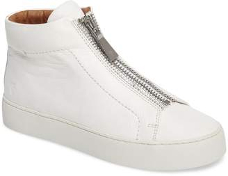 Frye Lena Zip High Top Sneaker