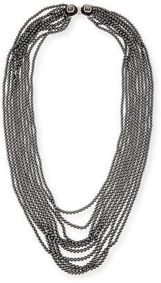 Oscar de la Renta Multi-Strand Simulated Pearl Necklace