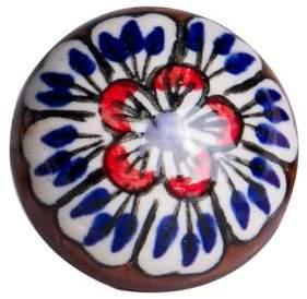 KNOB IT Set of Four Petal Ceramic Knobs