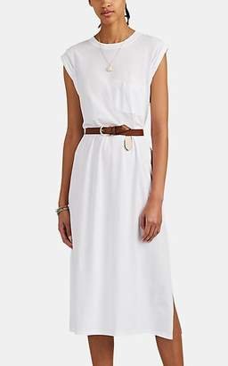ATM Anthony Thomas Melillo Women's Cotton Jersey Shift Dress - White