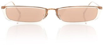 Linda Farrow Rectangular sunglasses