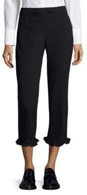 Ruffled Cuff Pants