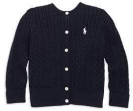 Ralph Lauren Baby Girl's Cable Cotton Cardigan