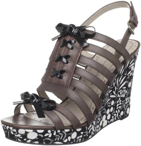 Marc by Marc Jacobs Women's Blog 615987 Floral Fabric Wedge