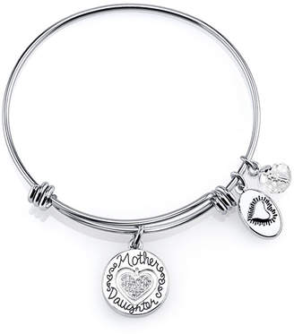 JCPenney FOOTNOTES TOO Footnotes Too Stainless Steel Mother Daughter Expandable Bangle