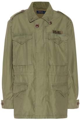 Polo Ralph Lauren Cotton twill military jacket