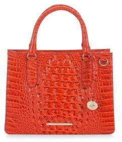 Brahmin Small Camille Leather Satchel